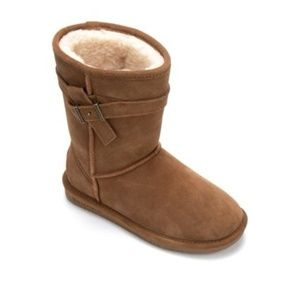 BEARPAW Val Women's Sherling Belted Boot